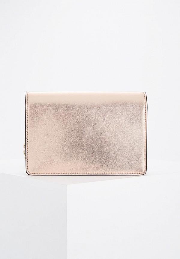 Фото 2 - женскую сумку Emporio Armani золотого цвета