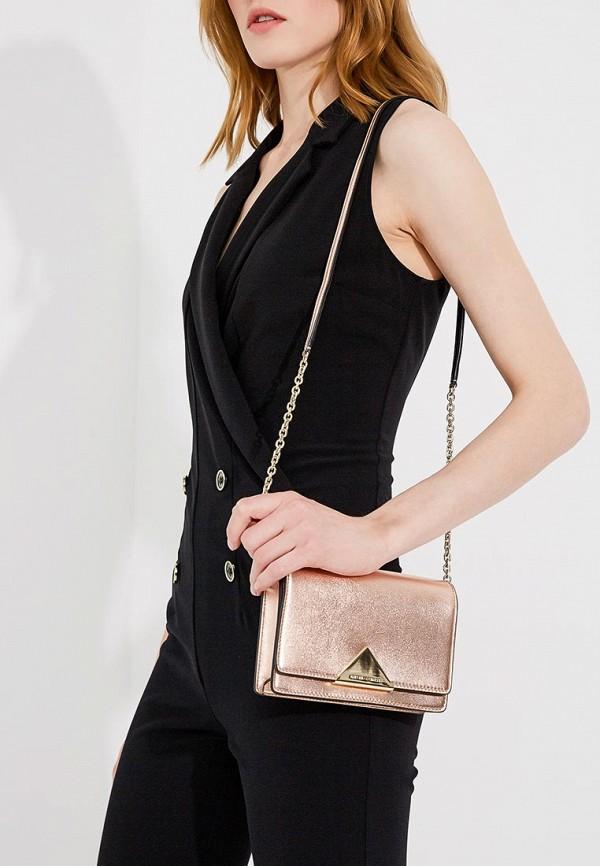 Фото 5 - женскую сумку Emporio Armani золотого цвета