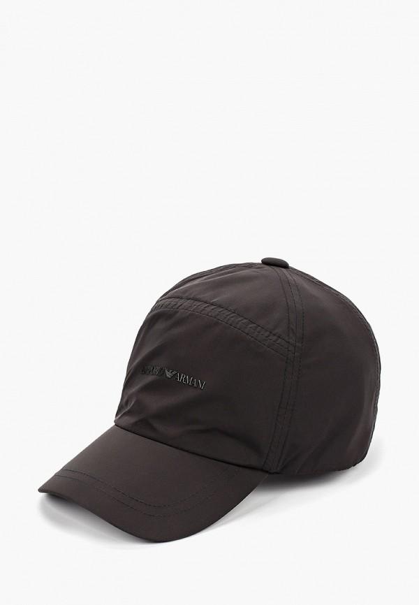 Купить Бейсболка Emporio Armani черного цвета