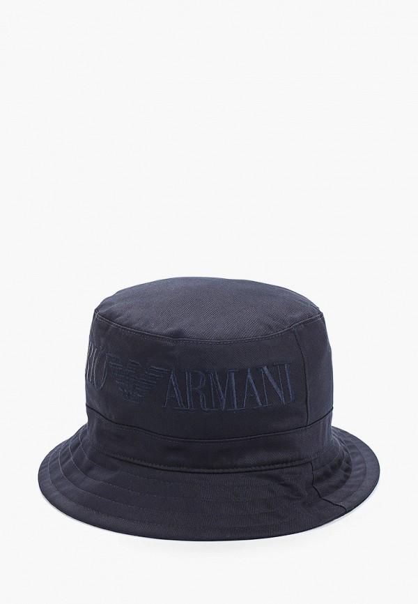 панама emporio armani для мальчика, синяя