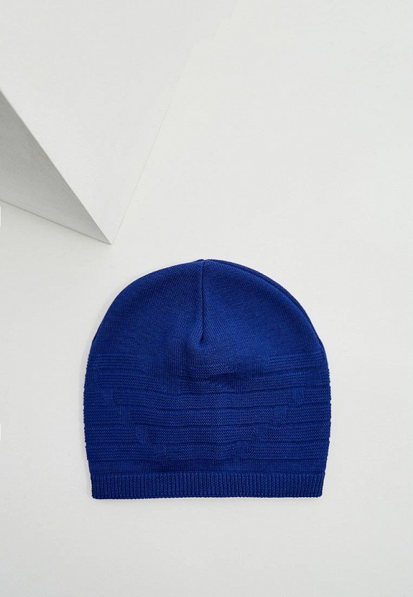 мужская шапка emporio armani, синяя