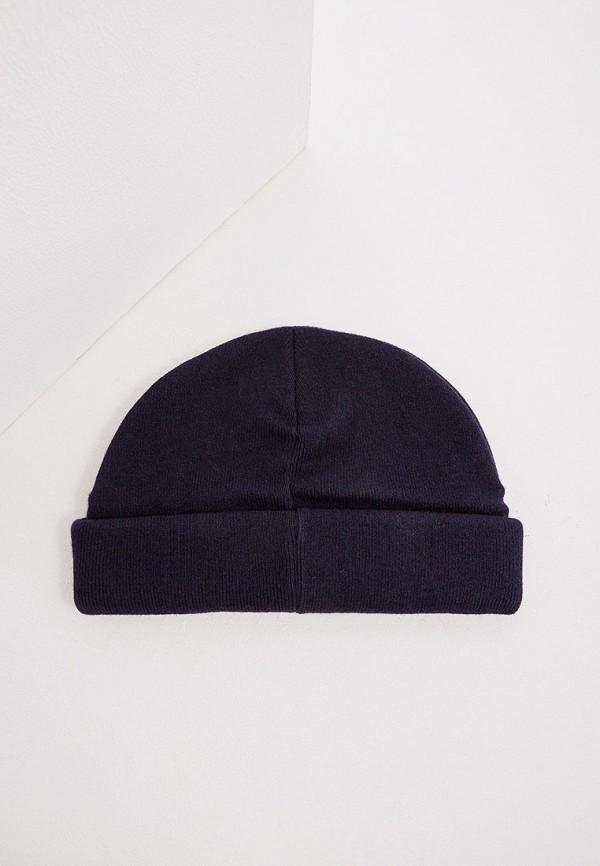 Фото 2 - мужскую шапку Emporio Armani синего цвета