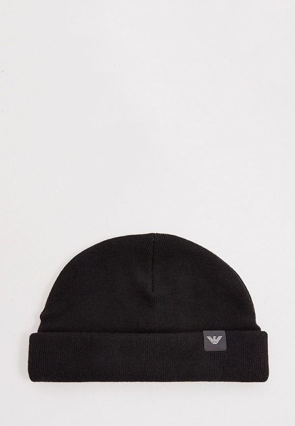 Фото - мужскую шапку Emporio Armani черного цвета