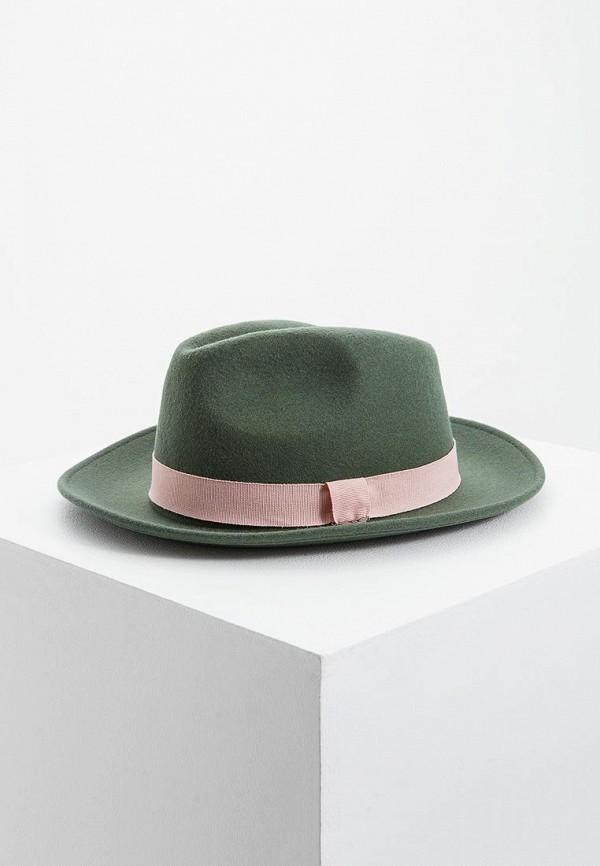 женская шляпа emporio armani, зеленая