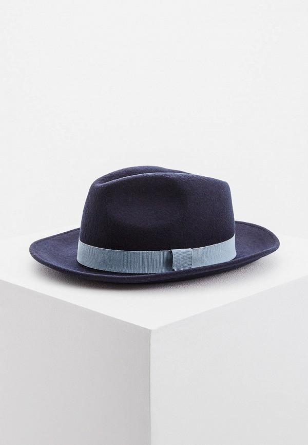 женская шляпа emporio armani, синяя