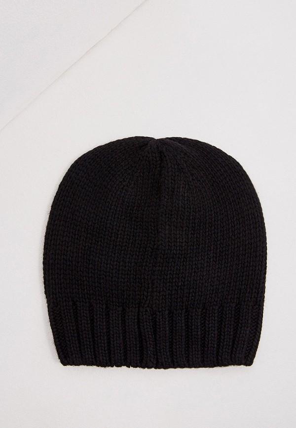 Фото 2 - женскую шапку Emporio Armani черного цвета
