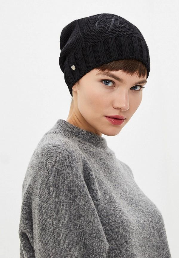 Фото 4 - женскую шапку Emporio Armani черного цвета