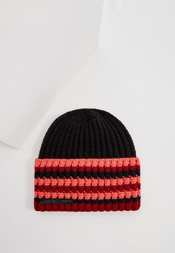 женская шапка emporio armani, разноцветная