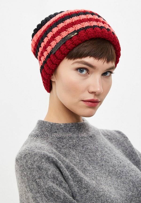 Фото 4 - женскую шапку Emporio Armani разноцветного цвета