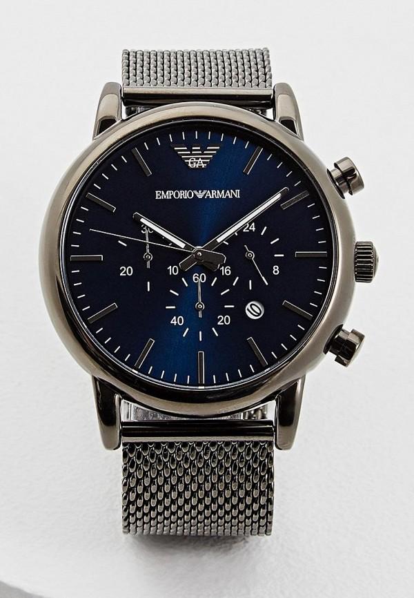 мужские часы emporio armani, черные