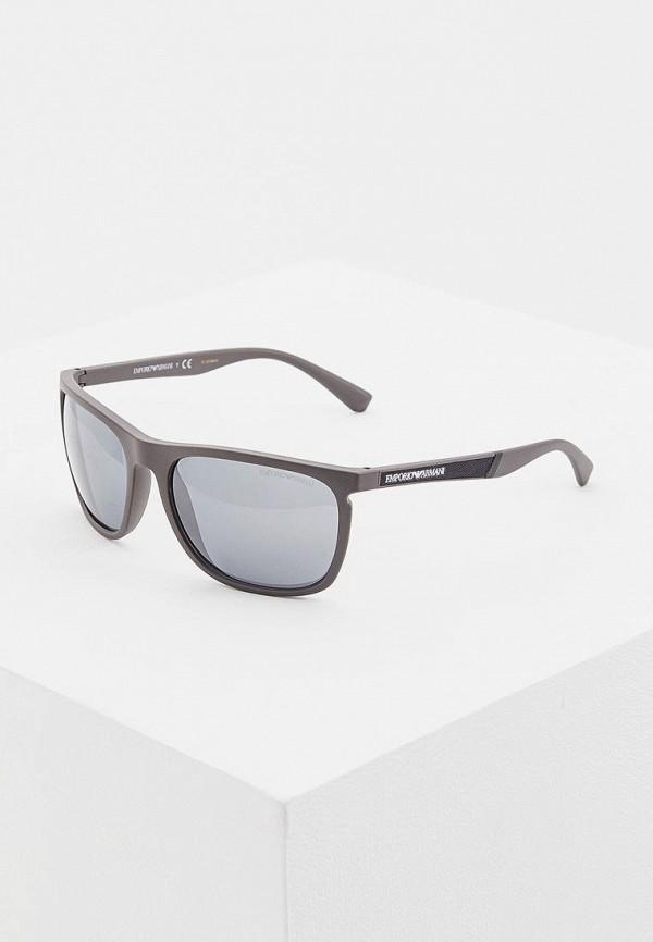 мужские солнцезащитные очки emporio armani, серые