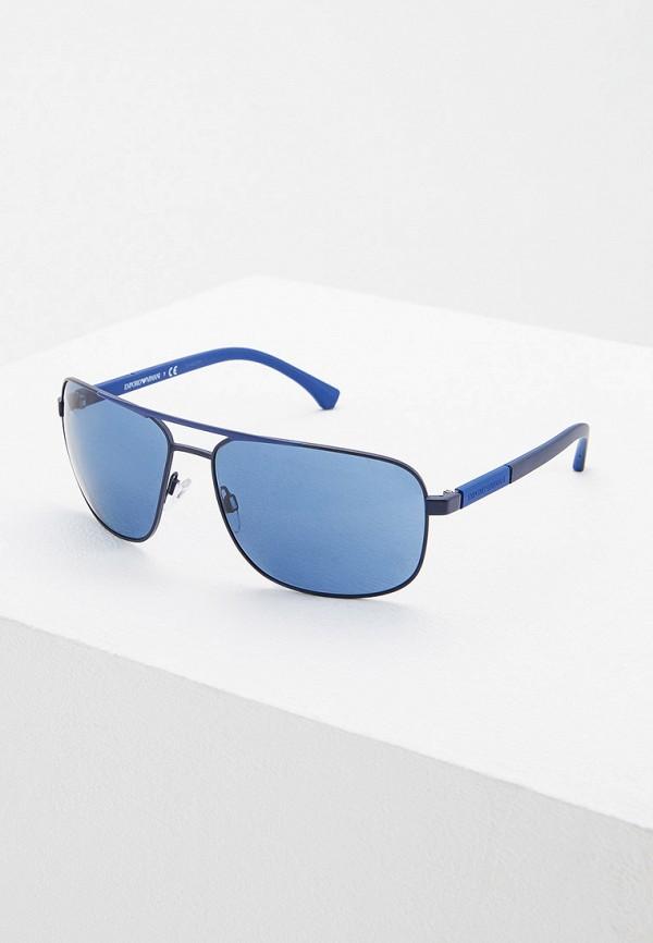 мужские солнцезащитные очки emporio armani, синие