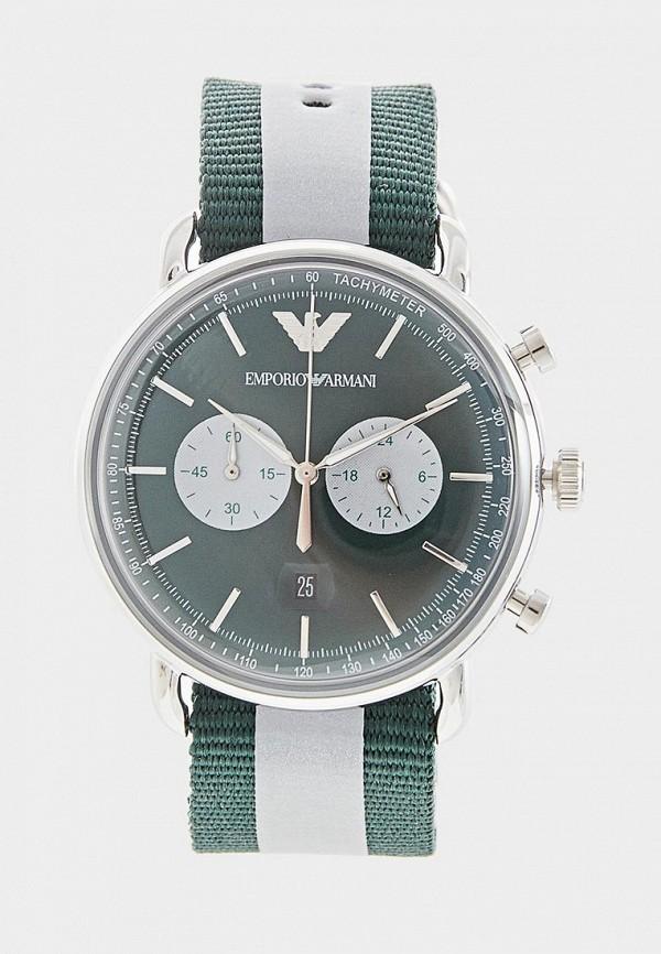 мужские часы emporio armani, зеленые