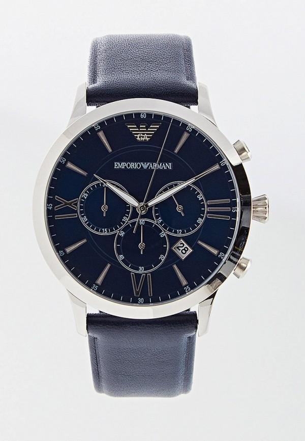 мужские часы emporio armani, синие
