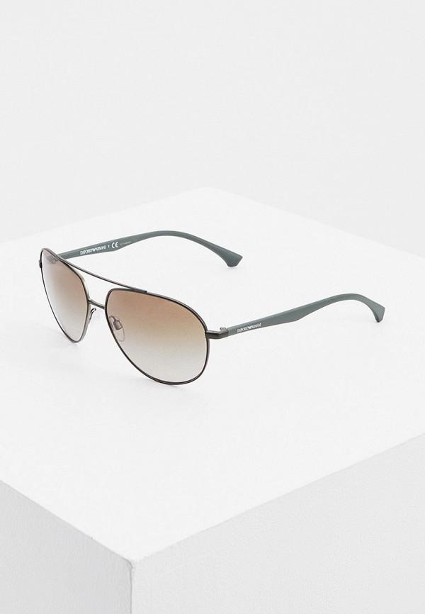 мужские солнцезащитные очки emporio armani, зеленые
