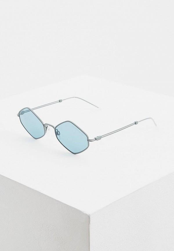 женские солнцезащитные очки emporio armani, голубые