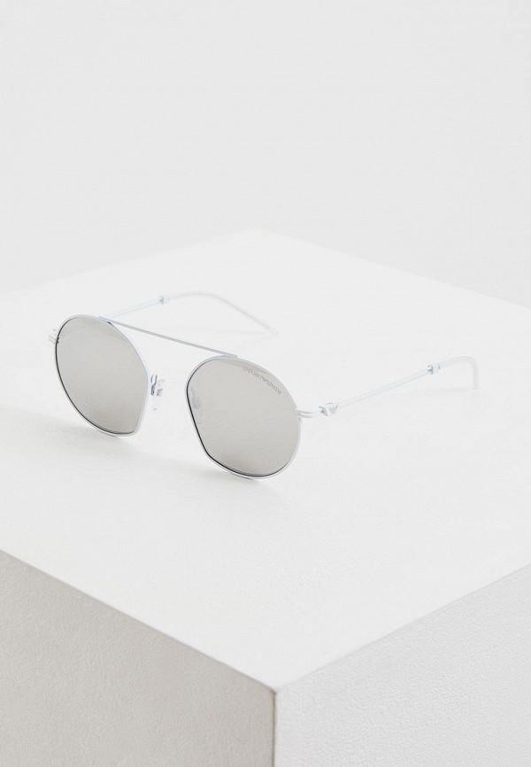 женские солнцезащитные очки emporio armani, белые