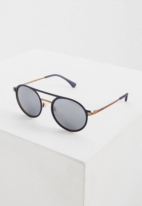 женские солнцезащитные очки emporio armani, синие