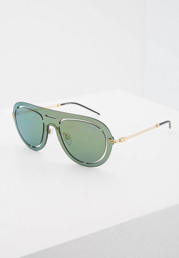 женские солнцезащитные очки emporio armani, зеленые