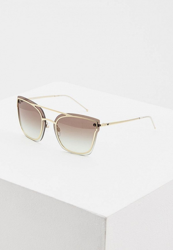 женские солнцезащитные очки emporio armani, золотые