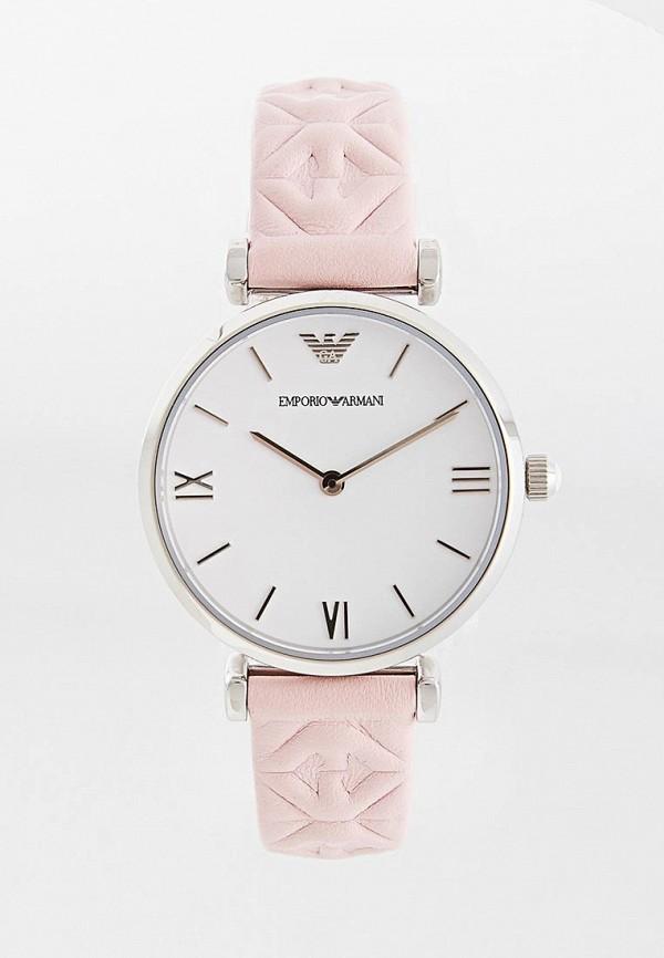 женские часы emporio armani, розовые