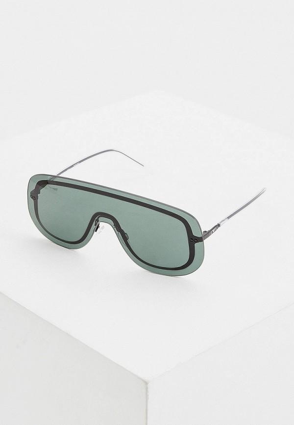 женские авиаторы солнцезащитные очки emporio armani, зеленые