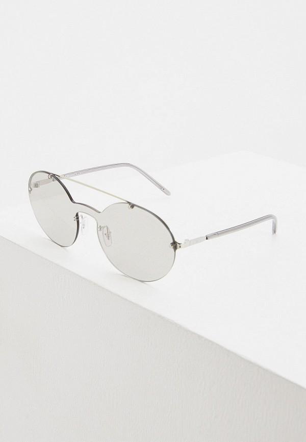 женские солнцезащитные очки emporio armani, серые