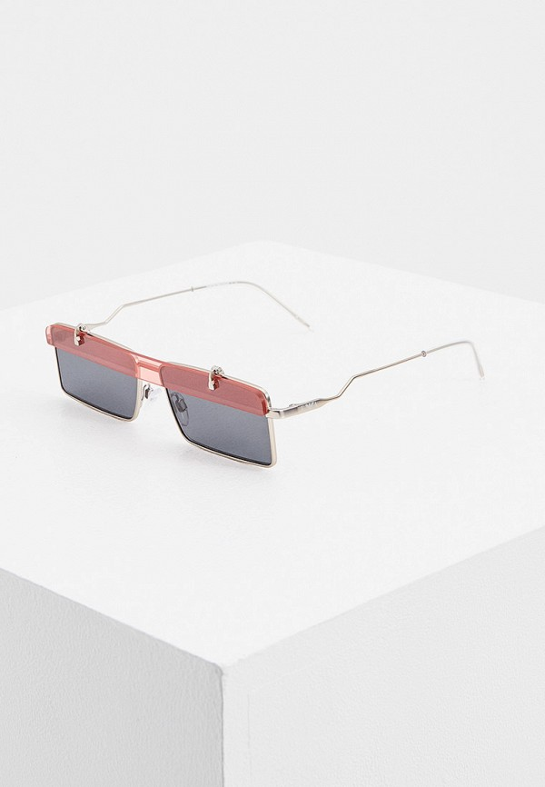 женские солнцезащитные очки emporio armani, серебряные