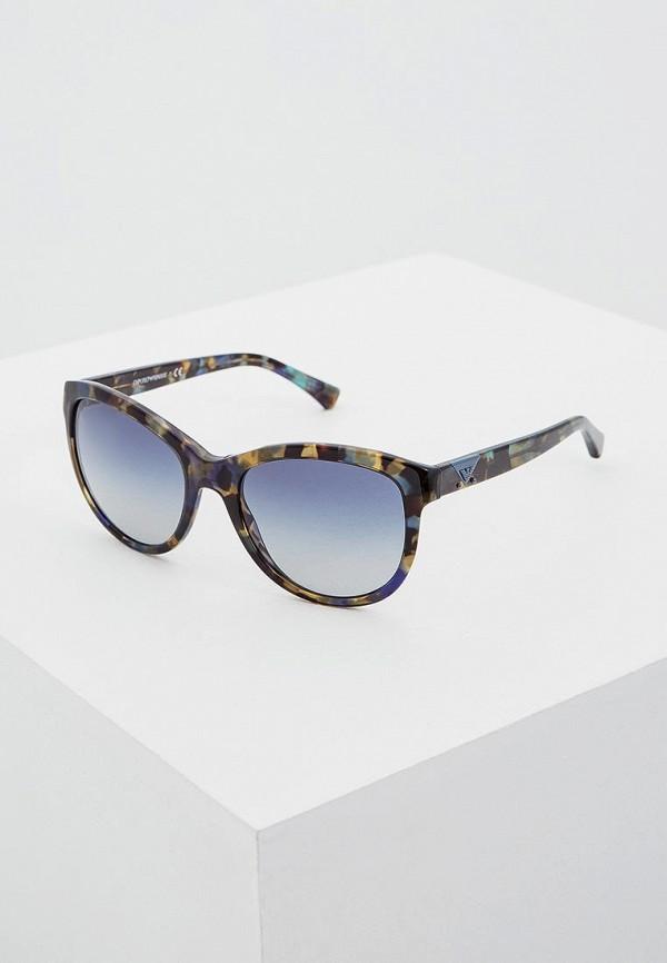 женские солнцезащитные очки emporio armani, разноцветные