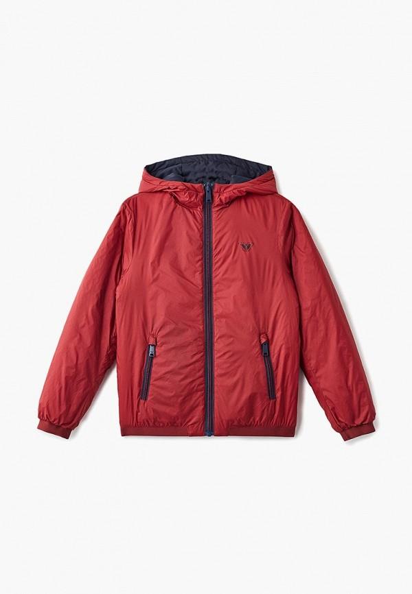 Куртка для мальчика утепленная Emporio Armani 6Z4B97 1NUNZ Фото 4