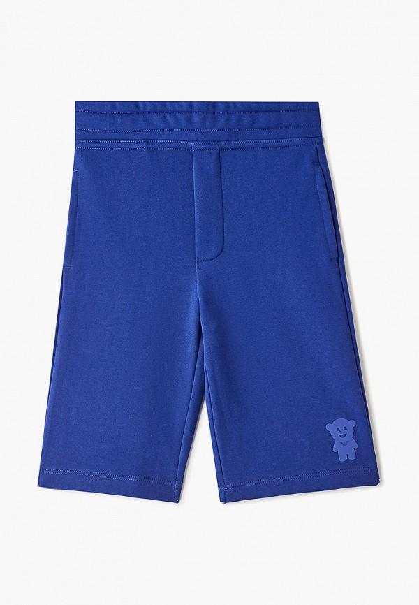 спортивные шорты emporio armani для мальчика, синие