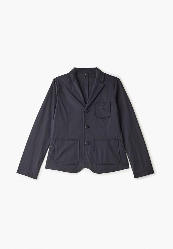 пиджак emporio armani для мальчика, синий