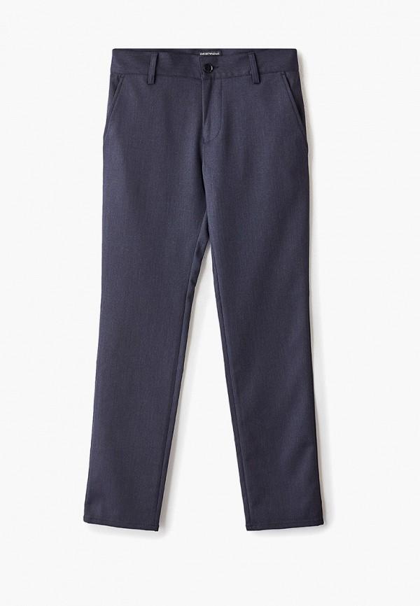брюки emporio armani для мальчика, синие