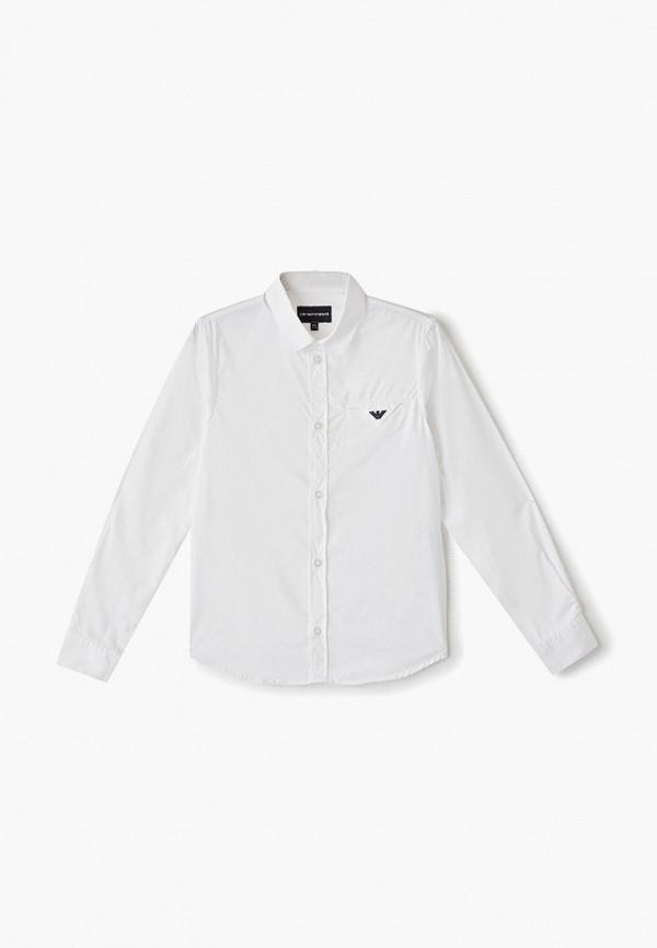 рубашка emporio armani для мальчика, белая