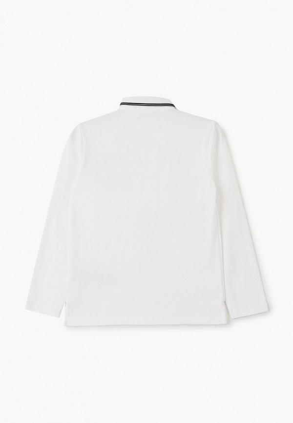 Фото 2 - футболку или поло для мальчика Emporio Armani белого цвета