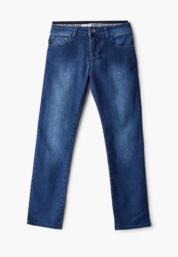 джинсы emporio armani для мальчика, синие