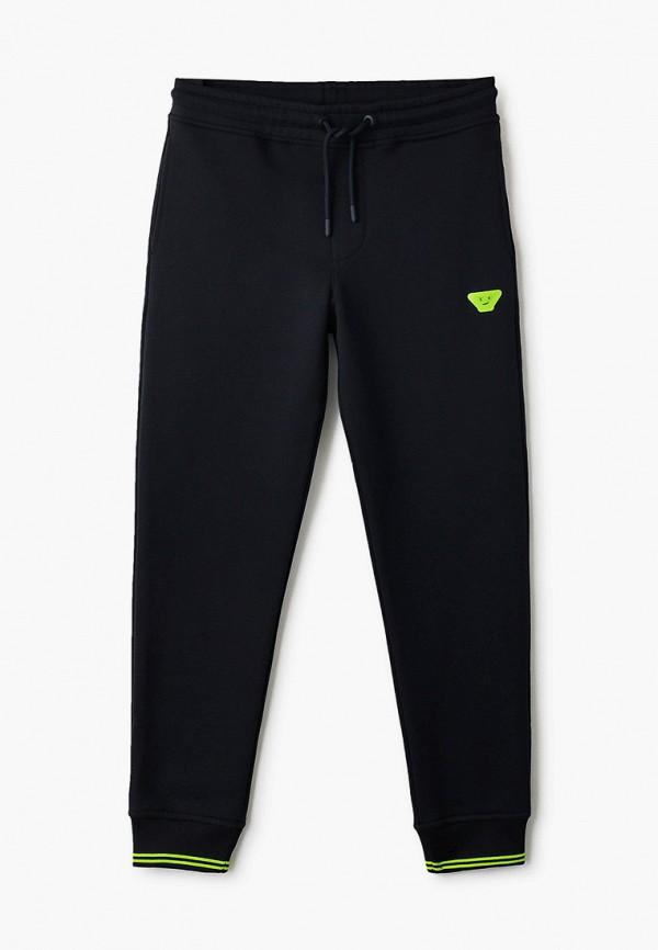 спортивные брюки emporio armani для мальчика, черные