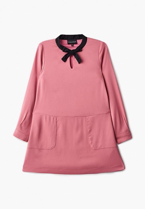 платье emporio armani для девочки, розовое