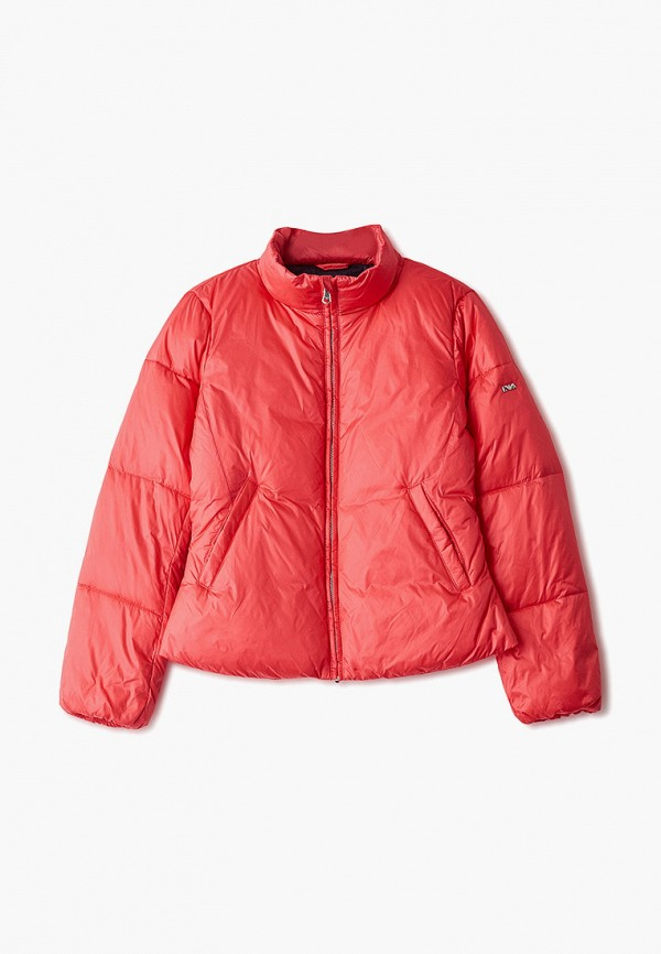 куртка emporio armani для девочки, розовая
