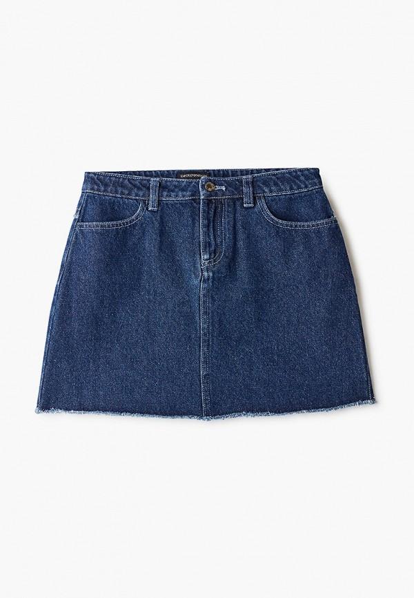 юбка emporio armani для девочки, синяя
