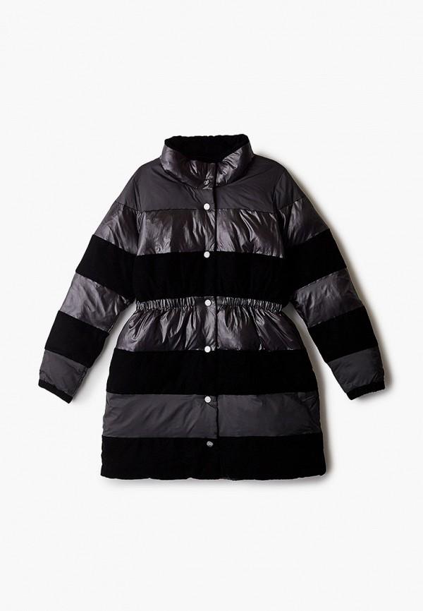 куртка emporio armani для девочки, черная