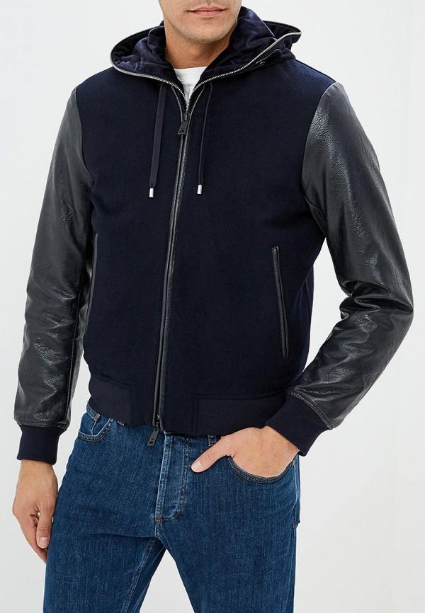 Куртка кожаная Emporio Armani Emporio Armani EM598EMBLLG7