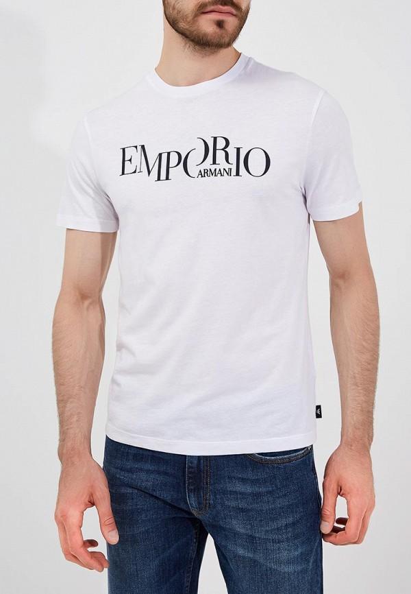 Футболка Emporio Armani Emporio Armani EM598EMBLMV0 emporio armani футболка emporio armani модель 2832344
