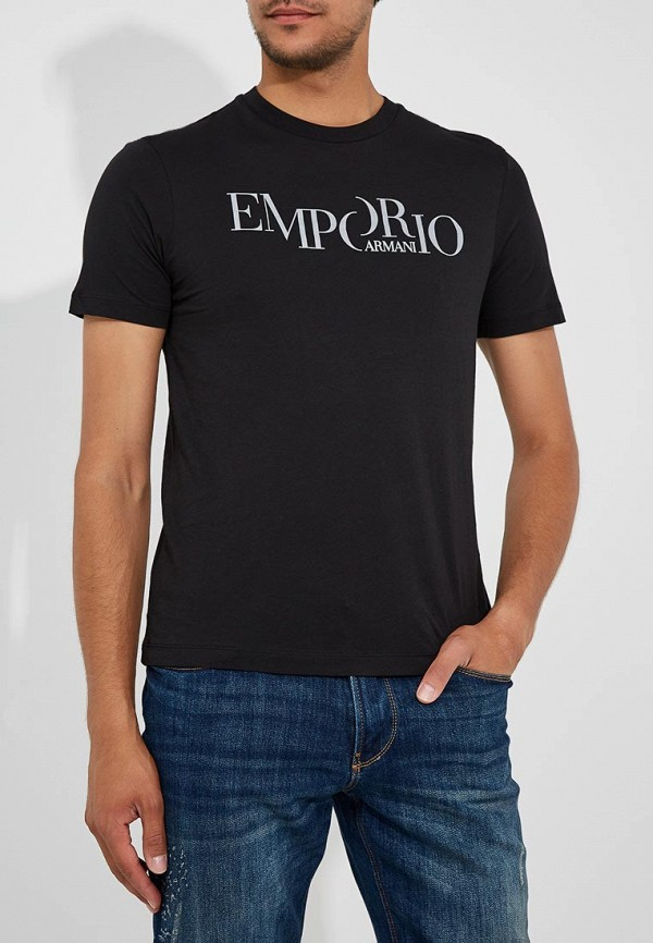 Футболка Emporio Armani Emporio Armani EM598EMBLMV2 футболка мужская emporio armani anh05 cc ea