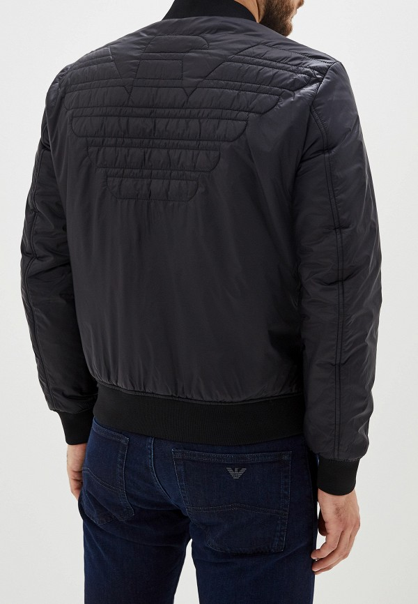 Фото 3 - Куртку утепленная Emporio Armani разноцветного цвета
