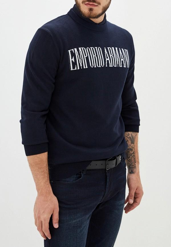 мужской джемпер emporio armani, синий