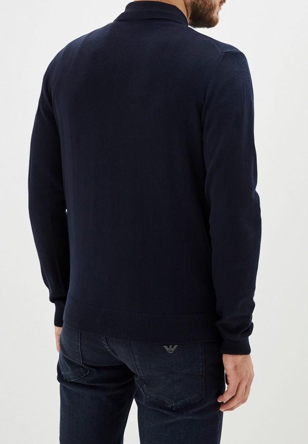 Фото 3 - мужское джемпер Emporio Armani синего цвета
