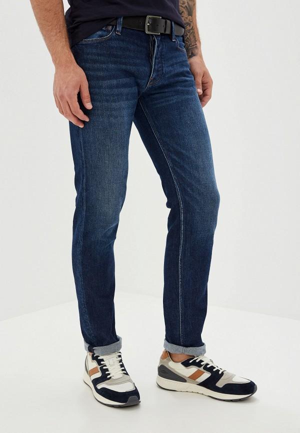 Фото - мужские джинсы Emporio Armani синего цвета