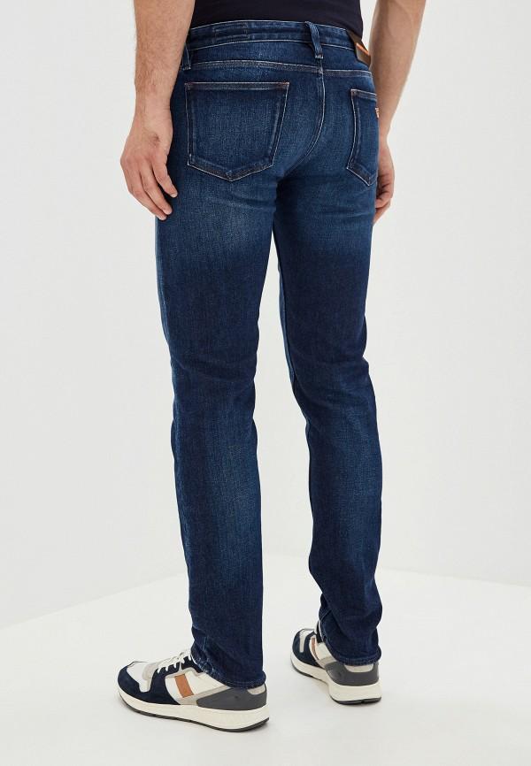 Фото 3 - мужские джинсы Emporio Armani синего цвета