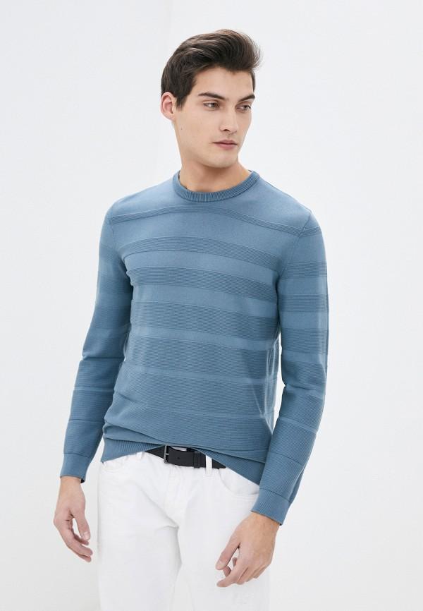 мужской джемпер emporio armani, голубой
